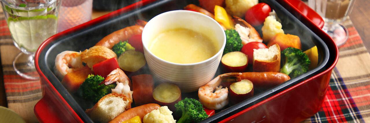 =ホットプレートレシピ4選!簡単レシピでおうちご飯を楽しもう♪