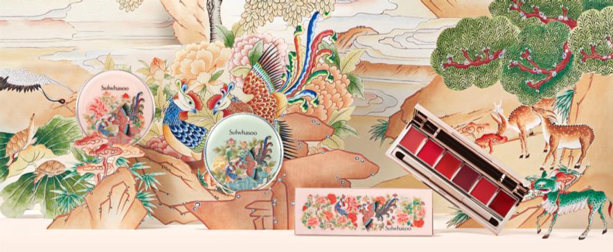 =雪花秀 鳳凰于飛限量彩妝系列 攜手當代藝術家邁向幸福花路