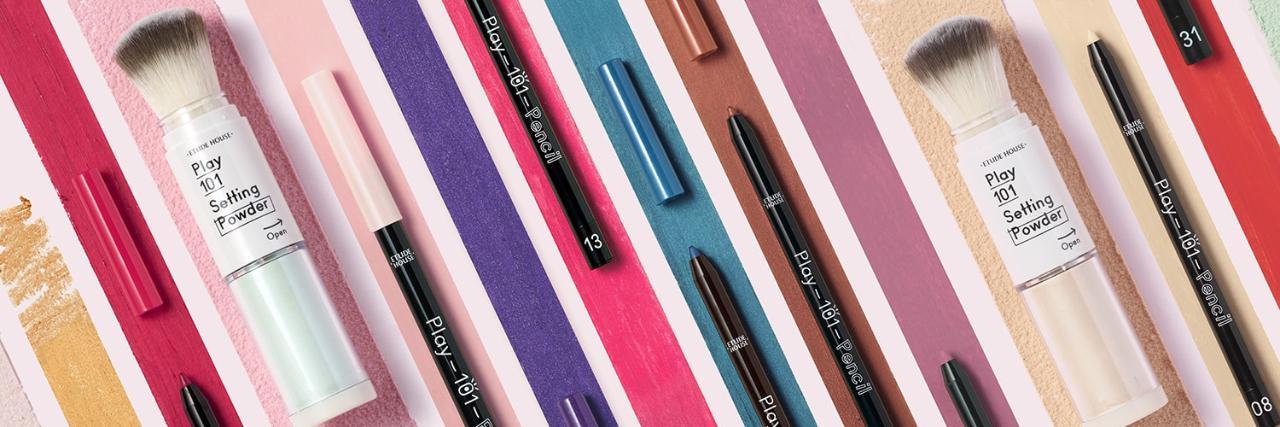 =ETUDE HOUSE  筆筆皆飾伸縮蜜粉修容刷、筆筆皆飾101變妝魔術筆
