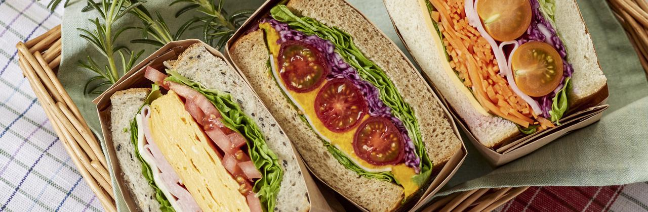 =ピクニックにはサンドイッチを!おしゃれ&おいしいレシピ集