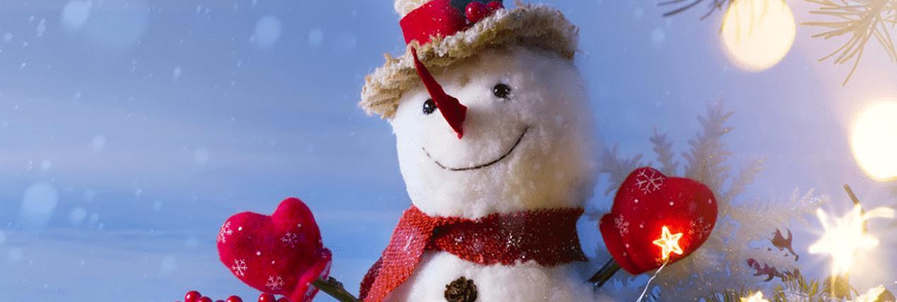 =雪だるまアイスボウルのレシピ♡クリスマスにもぴったり!