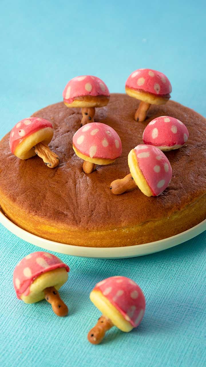 ケーキ カステラ ホット ミックス ベビー