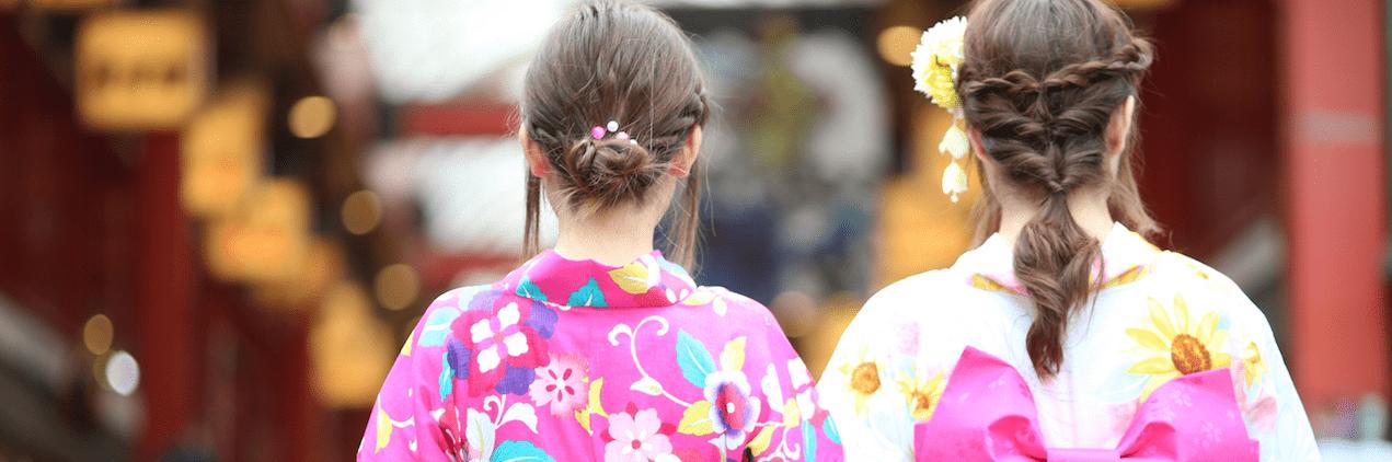 =高校生の浴衣に似合う髪型まとめ!中高生の簡単セルフアレンジ!