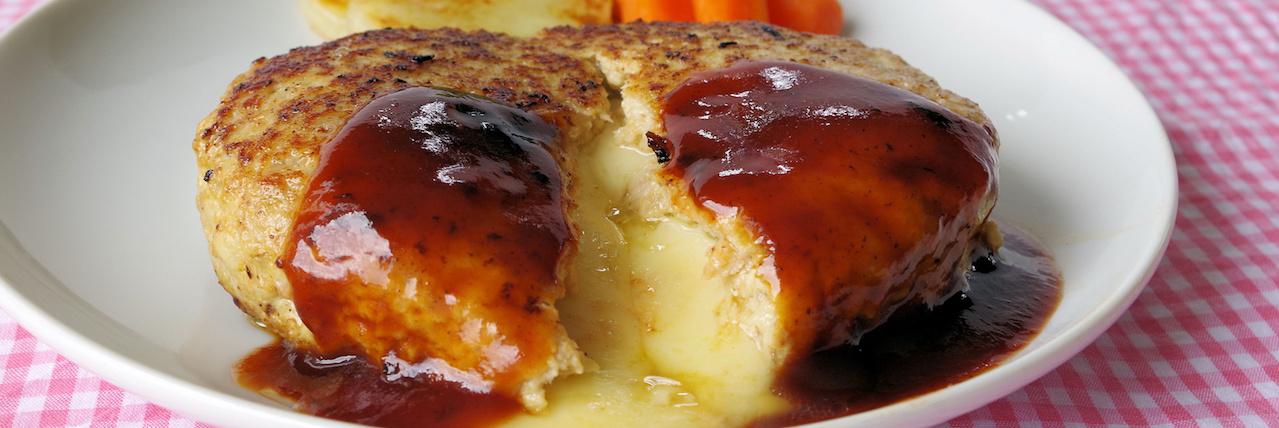 =簡単チーズインハンバーグのレシピ集!お弁当からアレンジまで