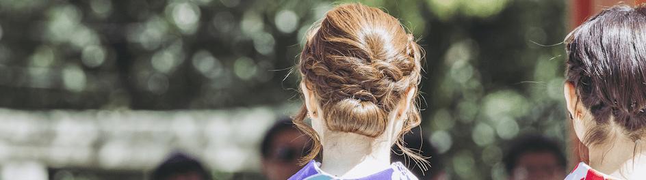 =浴衣には「くるりんぱ」のヘアアレンジがピッタリ!髪型15選♡