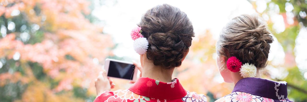 =着物に似合う髪型特集!簡単でおしゃれなヘアアレンジ30選