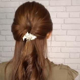 カジュアル 髪型 オフィス