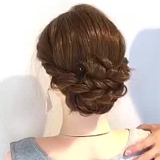 着物に似合う髪型特集 簡単でおしゃれなヘアアレンジ30選 C Channel