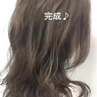 髪 ハイライト
