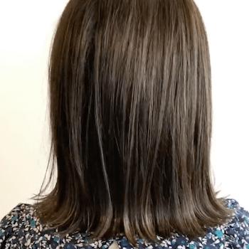 伸ばしかけボブのヘアスタイル集 ハネる髪もかわいくアレンジ C